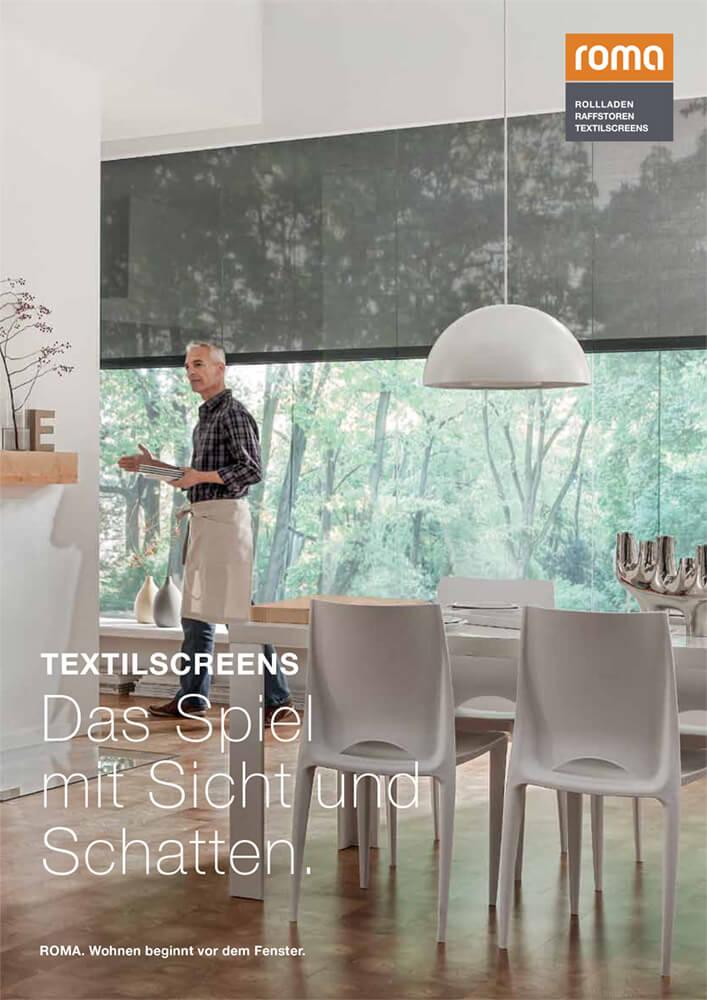 Textilscreens sind perfekter Sicht- und Sonnenschutz